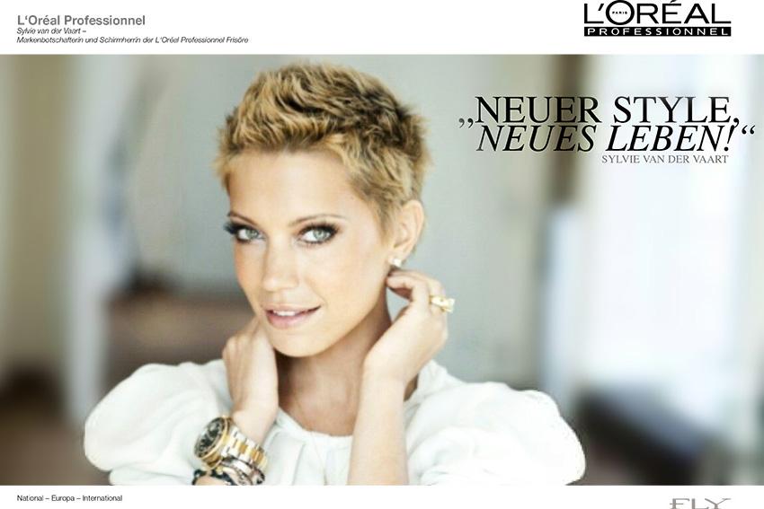 L'Oréal Professionell Sylvie Meis