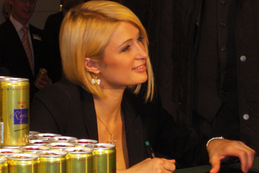 Paris Hilton Rich Prosecco